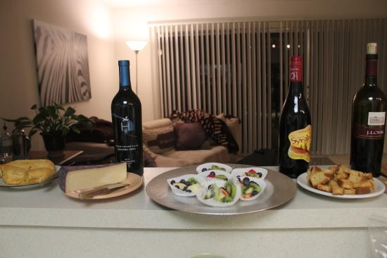 Wine & appetizers